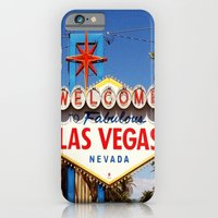 iPhone & iPod Case featuring Ah Vegas... by Elle