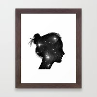 Star Sister Framed Art Print