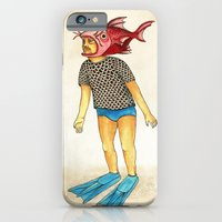 iPhone & iPod Case featuring Pescado by Juan Weiss