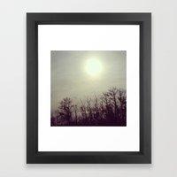 Autumn Calm Framed Art Print
