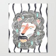 Listen to Your Lion Canvas Print