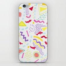 Pastel Postmodern doodle iPhone & iPod Skin
