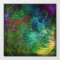 Circle of pure joy Canvas Print
