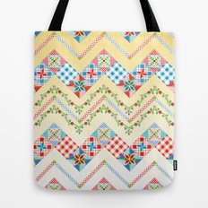 Country Days Zig Zag Tote Bag