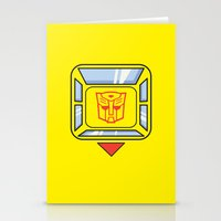 Transformers - Bumblebee Stationery Cards
