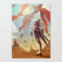 The Great Migration Canvas Print