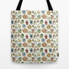 Bird Boxes Tote Bag