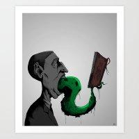 H.P.L. Art Print
