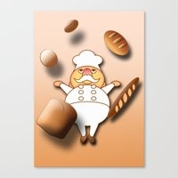 Magical Bakery Canvas Print