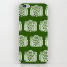I Still Shoot Film Holga Logo - Reversed Green iPhone & iPod Skin