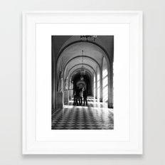 VERSAILLES II - MEETING IN VERSAILLES Framed Art Print