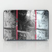 A Curtain Of Rain Circle… iPad Case