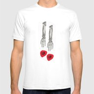 Give Mens Fitted Tee White SMALL