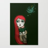 Letting Go. Holding On. Canvas Print