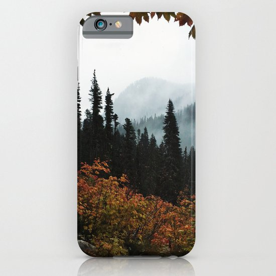 Fall Framed Trail iPhone & iPod Case