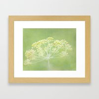 Turn over a new leaf Framed Art Print