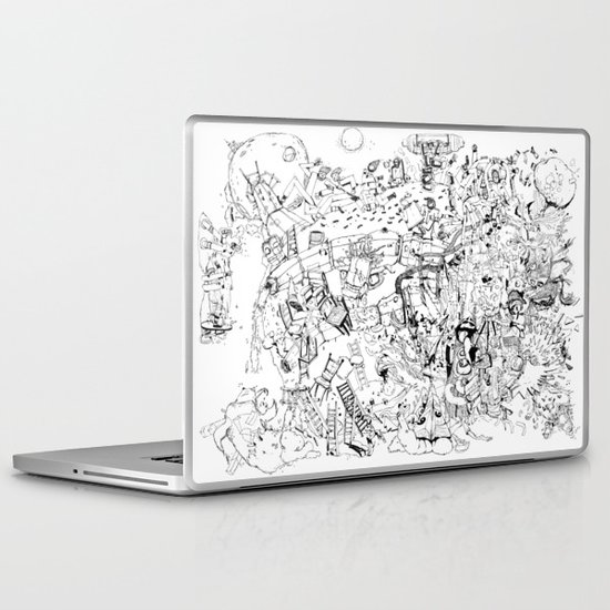 Fragments of dream Laptop & iPad Skin