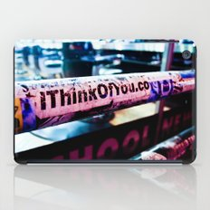 I Think of You iPad Case