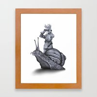 In Which No Explanation … Framed Art Print