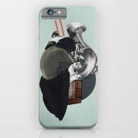 Silhouette d'une Trompeuse iPhone 6 Slim Case