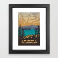 Killarney Park Poster Framed Art Print