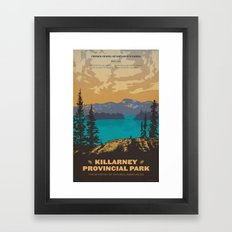 Killarney Park Poster Framed Art Print