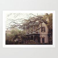 New Orleans Southern Beauty Art Print
