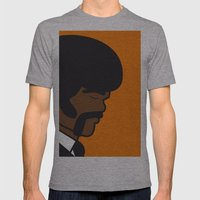 Pop Icon - Jules Mens Fitted Tee Athletic Grey SMALL