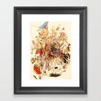 The Seven Head Dresses O… Framed Art Print