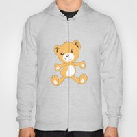 Parachuting Bear 2 Hoody
