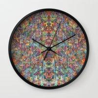 Acid Rain (Reflected) Wall Clock
