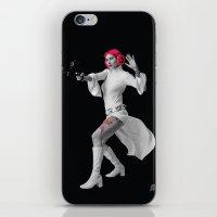 Princess Leia Strikes Ba… iPhone & iPod Skin