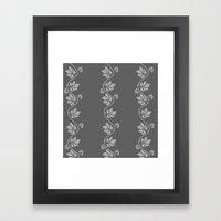 Leaves and Vines Framed Art Print
