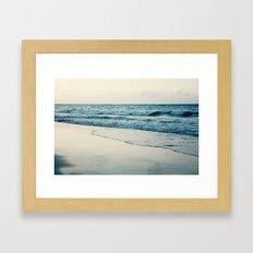The Sea Framed Art Print