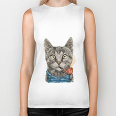 Sailor Cat IX Biker Tank