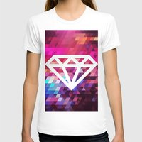 Colors Womens Fitted Tee White SMALL