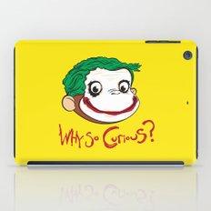 Why So Curious? iPad Case