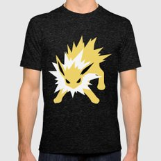 Jolteon Mens Fitted Tee Tri-Black SMALL