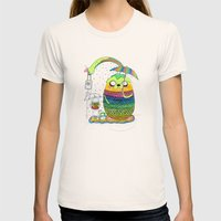 Adventure Time Totoro By… Womens Fitted Tee Natural SMALL