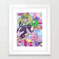 Decora Framed Art Print