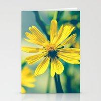 Yellow Sunshine Stationery Cards