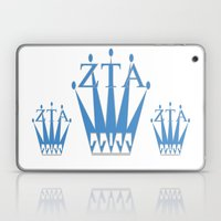Zeta Tau Alpha, & Crown Laptop & iPad Skin