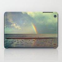 Rainbow Over Sea iPad Case