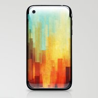 iPhone & iPod Skin featuring Urban Sunset by SensualPatterns