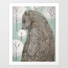 Keeper of the forest Art Print