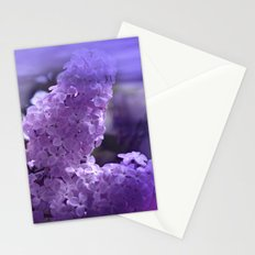 dreaming of lilacs Stationery Cards