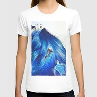 Mermaid Womens Fitted Tee White SMALL