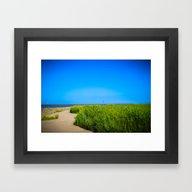 North Sea - Romance 3 Framed Art Print
