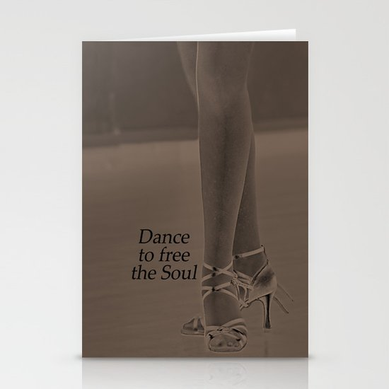 Dance to free the Soul. Stationery Card
