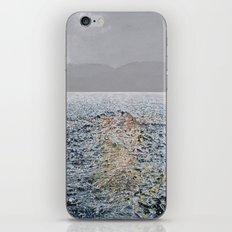 Swimming under the rain iPhone & iPod Skin